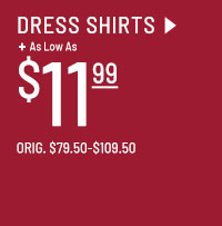 As low as $11.99 Clearance Dress Shirts