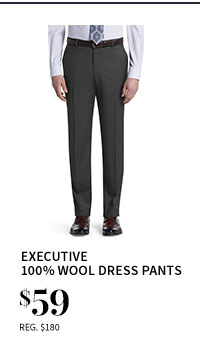 $59 Executive 100% Wool Dress Pants
