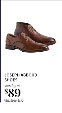 Joseph Abboud Shoes starting at $89
