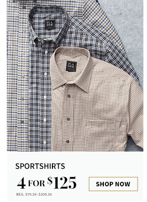 4 for $125 Sportshirts