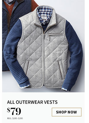 $79 All Outerwear Vests
