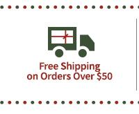 Free Standard Shipping - No Minimum on US orders