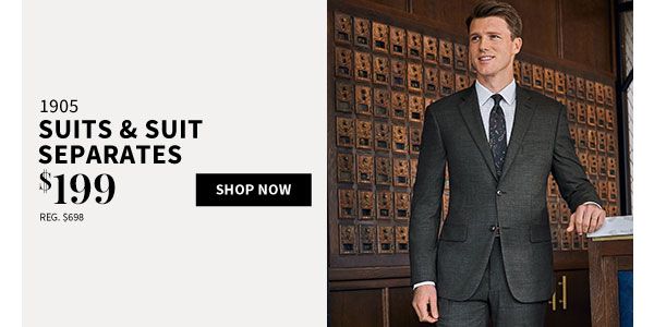 $199 1905 Suits & Suit Separates