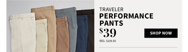 $39 Traveler Performance Pants