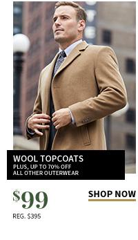 $99 Wool Topcoats